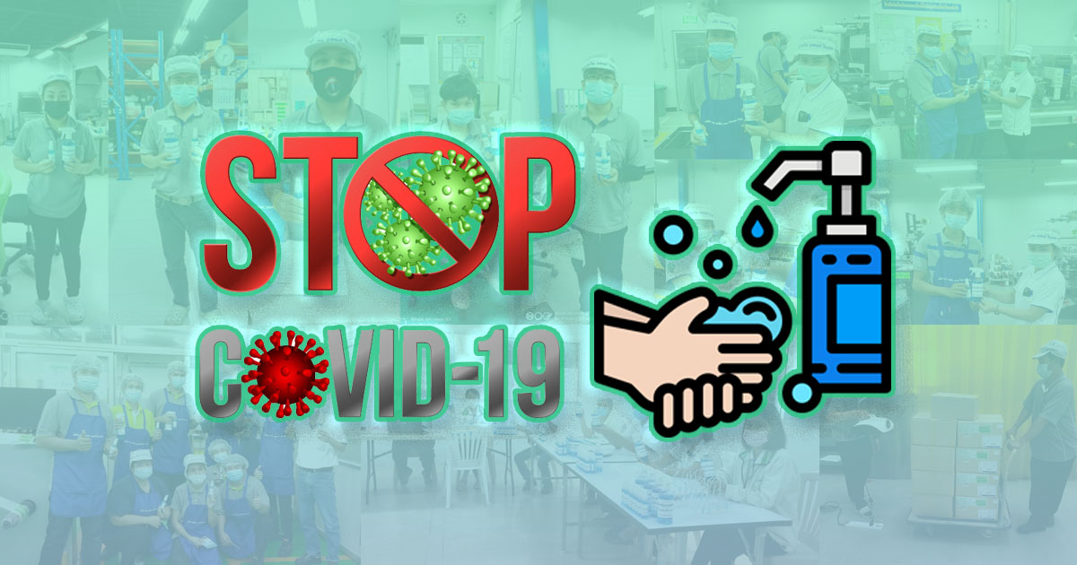stop covid 19 with free alcohol campaign